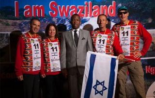 הצוות הישראלי עם שר התיירות ת